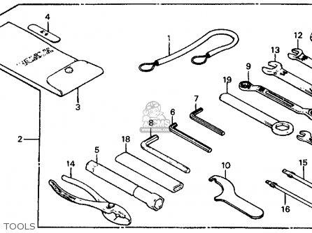 1984 Honda Aspencade Gold Wing Fuse Box Location Schematic Diagram
