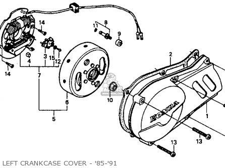honda xr80 wiring diagram