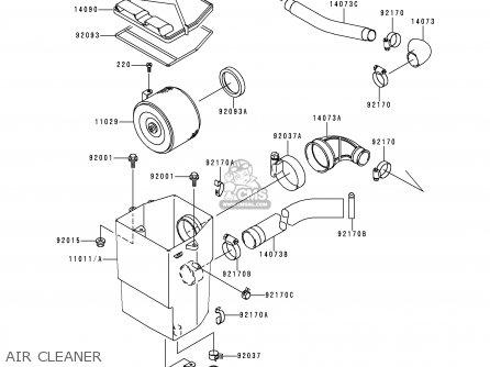 Kawasaki KAF620-A5 MULE 1998 USA parts lists and schematics