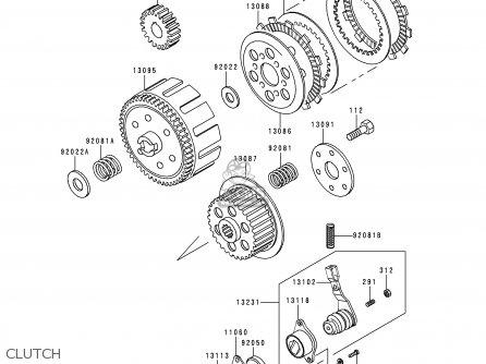 Kawasaki Ke100 Clutch Diagram - Wiring Diagrams Clicks