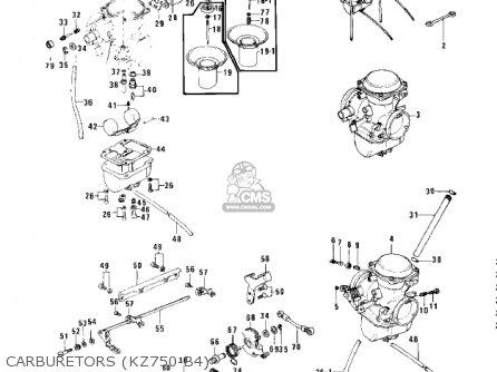 kawasaki kz750 wiring diagram