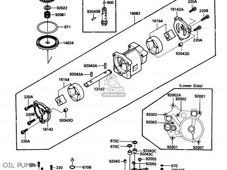Kawasaki ZG1200B4 VOYAGER XII 1990 USA CALIFORNIA CANADA parts lists