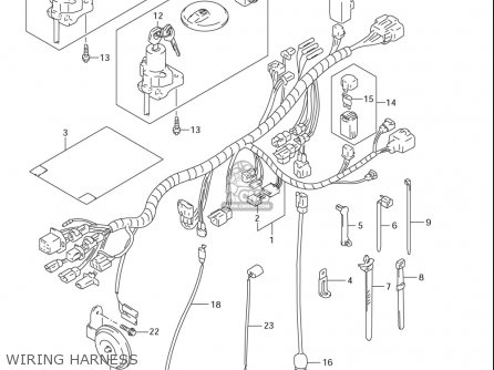 wiring diagram for suzuki savage 650