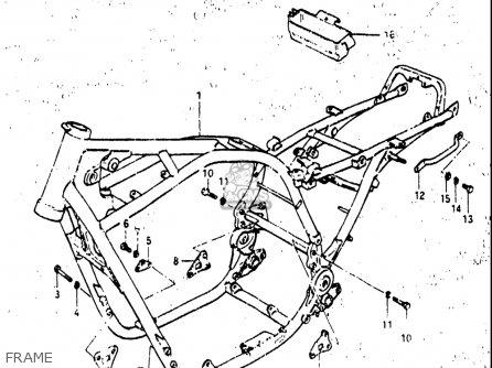 1983 suzuki 850 wiring schematic