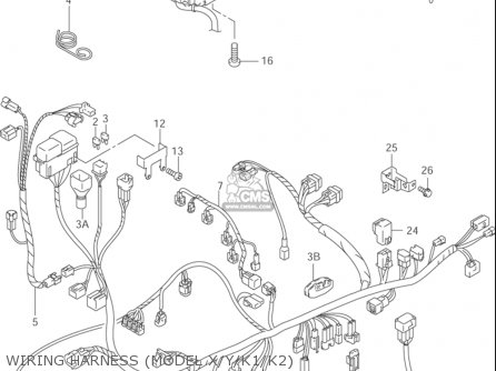 2014 suzuki hayabusa wiring diagram