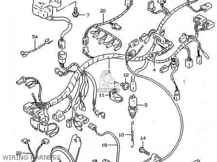 Wiring Diagram Suzuki Rf900r Wiring Schematic Diagram