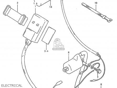 suzuki rmx 250 wiring diagram