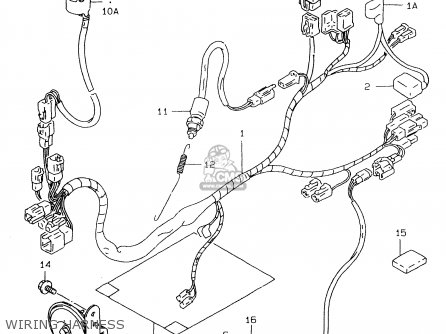 PROTECTOR,WIRING HARNESS for TL1000S 2000 (Y) - order at CMSNL