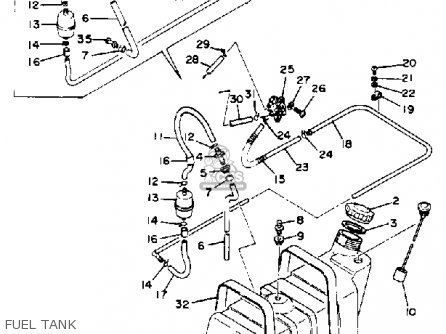 Yamaha G1 Fuel System Diagram - Electrical Schematic Wiring Diagram \u2022