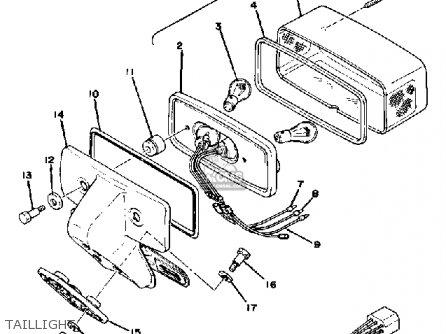 1979 xs1100 wiring diagram schematic