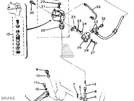 1981 Yamaha 550 Wiringdiagram Yamaha 750 Wiring Placement ... on