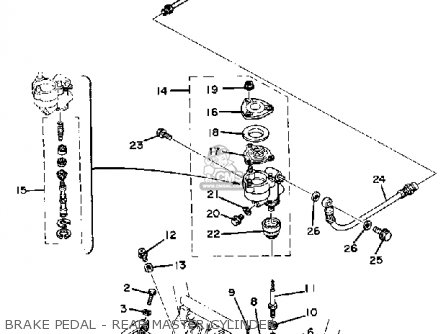 coil wire diagram for xs 1100 yamaha 1979