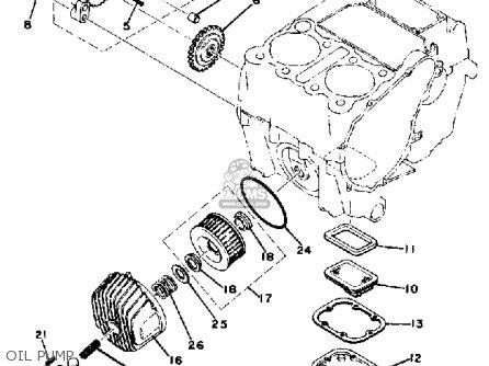 1980 yamaha 650 special wiring