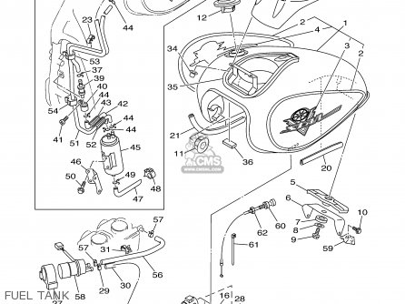 2000 v star 650 wiring diagram