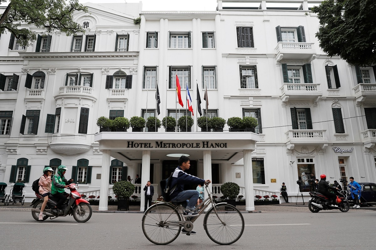 Hanoi Hotel Trump And Kim Jong Un To Meet For Dinner At Colonial Era Hanoi