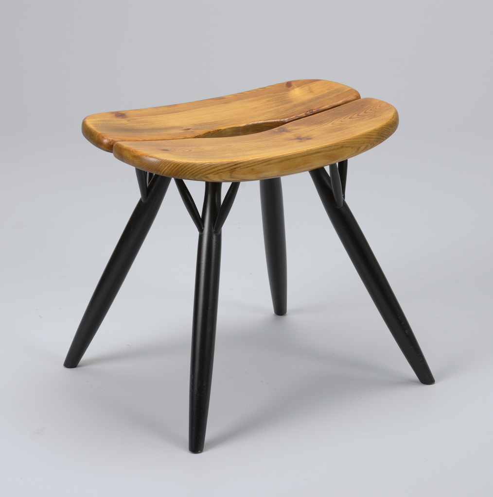 Pirkka Stool Ca 1955 Objects Collection Of Cooper Hewitt Smithsonian Design Museum