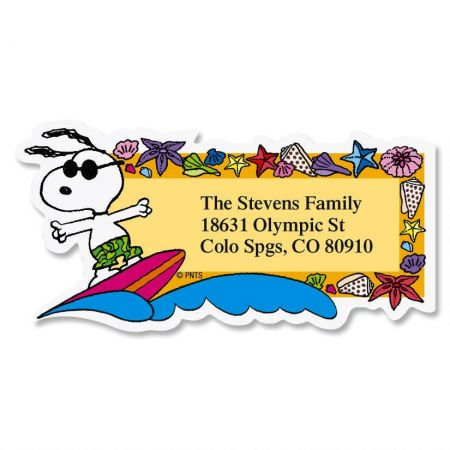 Snoopy address labels Compare Prices at Nextag