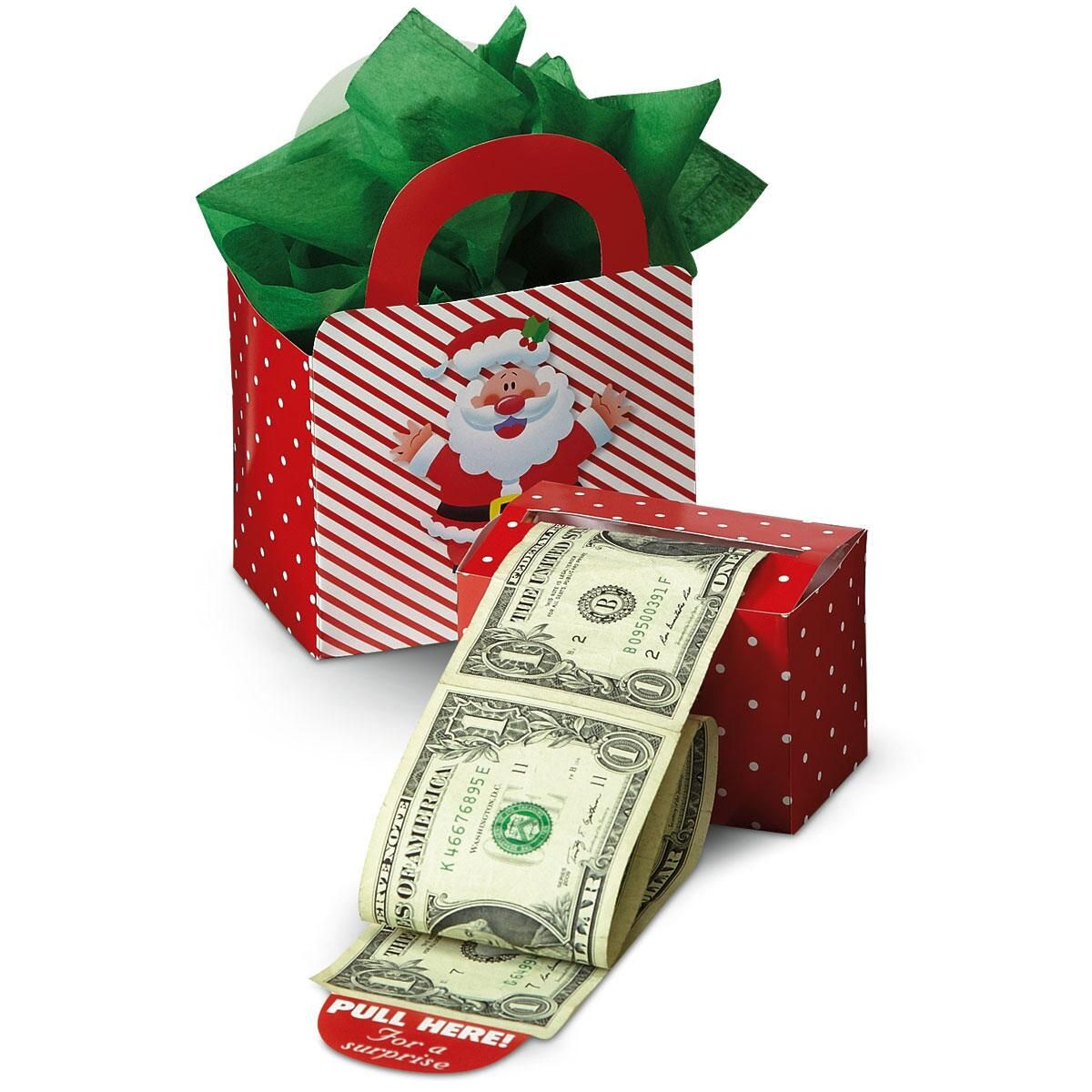 Buy Money Box Happy Santa Money Dispenser And Gift Box Set Colorful Images