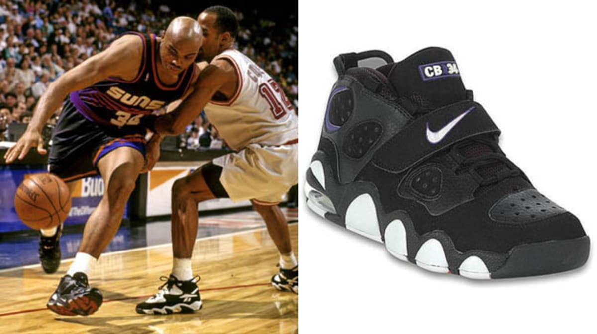Today In Performance Sneaker History Charles Barkley
