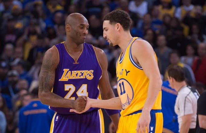 Kobe Bryant Wallpaper Hd Klay Thompson Remembers Kobe Bryant Sending Him Text After
