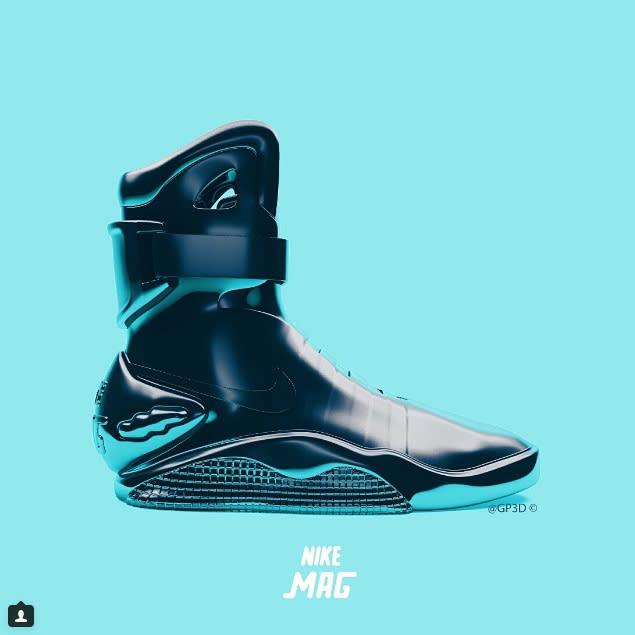 3d Crazy Wallpaper Nike Mag 3 D Renderings Complex