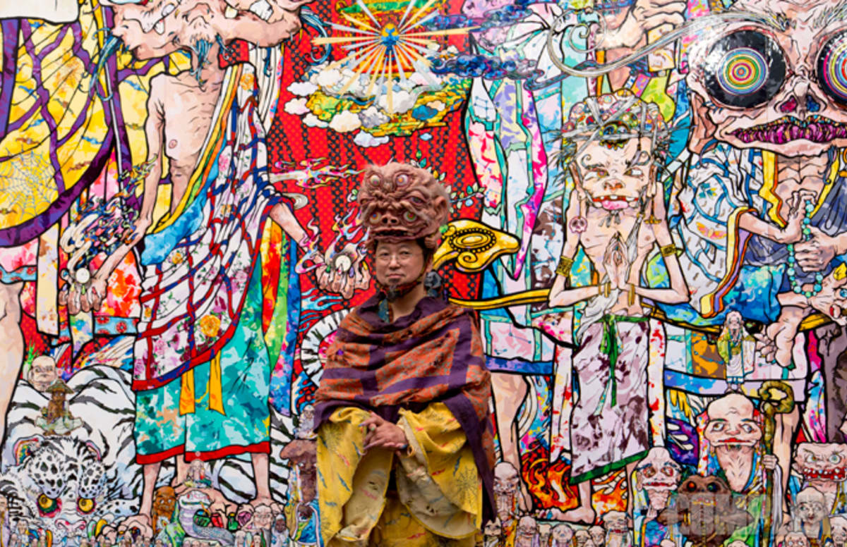 Summer Desktop Wallpaper Hd Takashi Murakami Talks About His New Death Themed Art