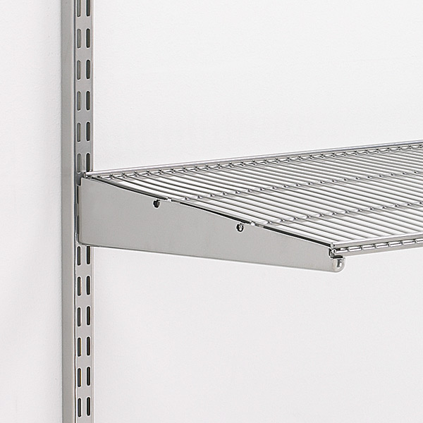 Lagerregale Gebraucht Platinum Elfa Ventilated Wire Shelves | The Container Store