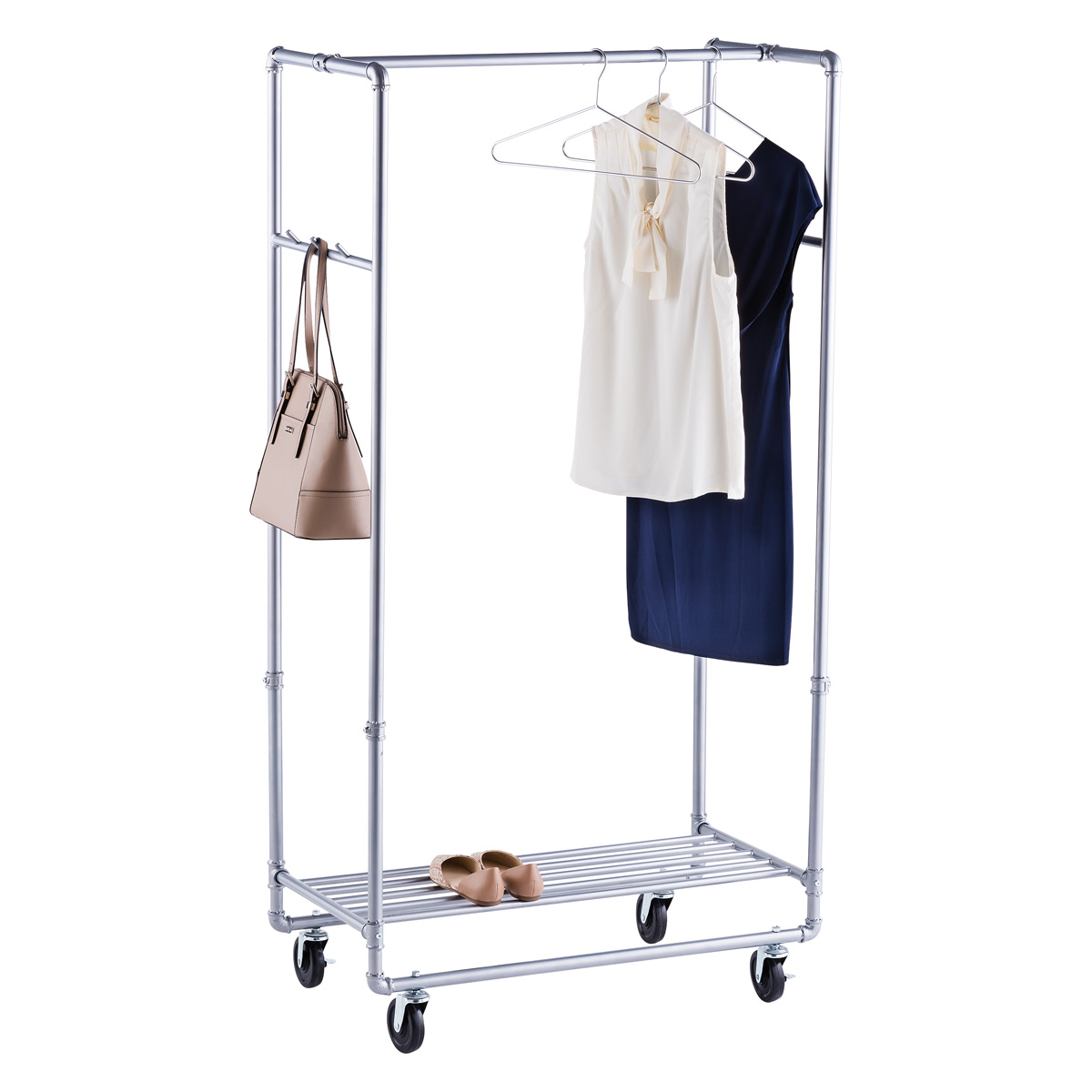 Industrial Clothing Rack Industrial Pipe Clothes Rack