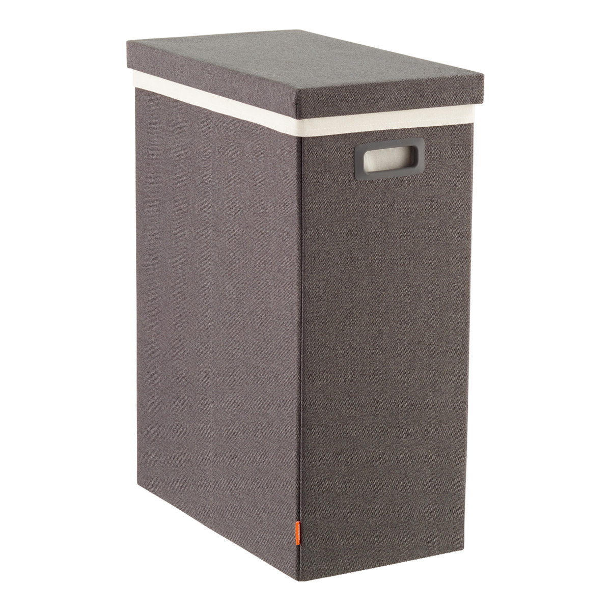 Closed Laundry Hamper Dark Grey Poppin Laundry Hamper With Lid The Container Store