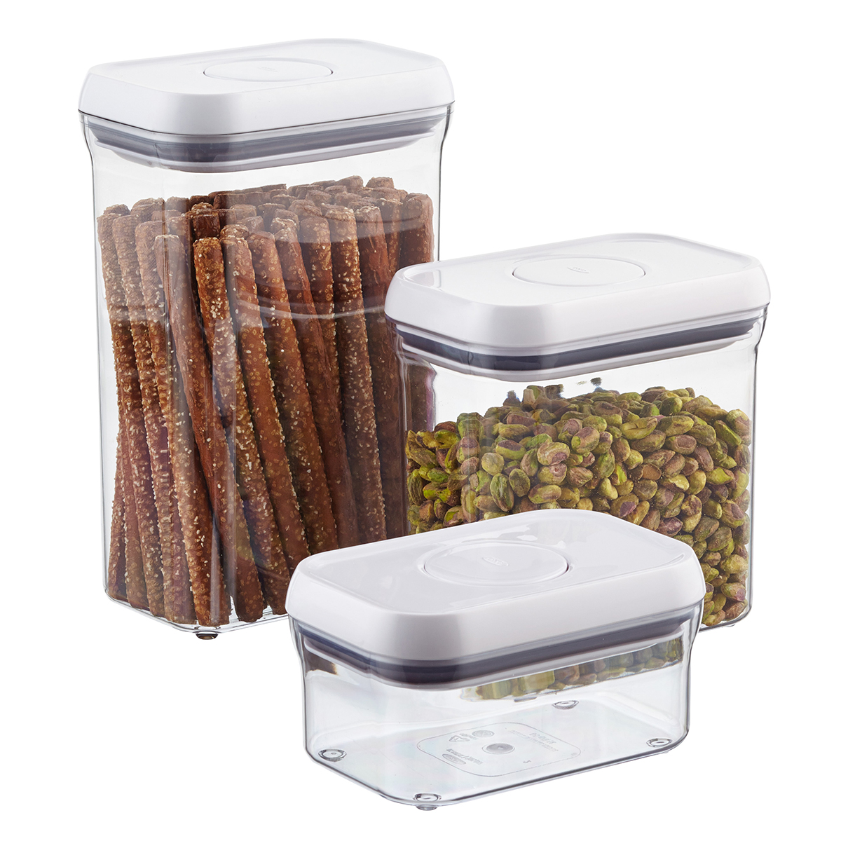 Oxo Good Grips Rectangular Pop Canisters The Container Store