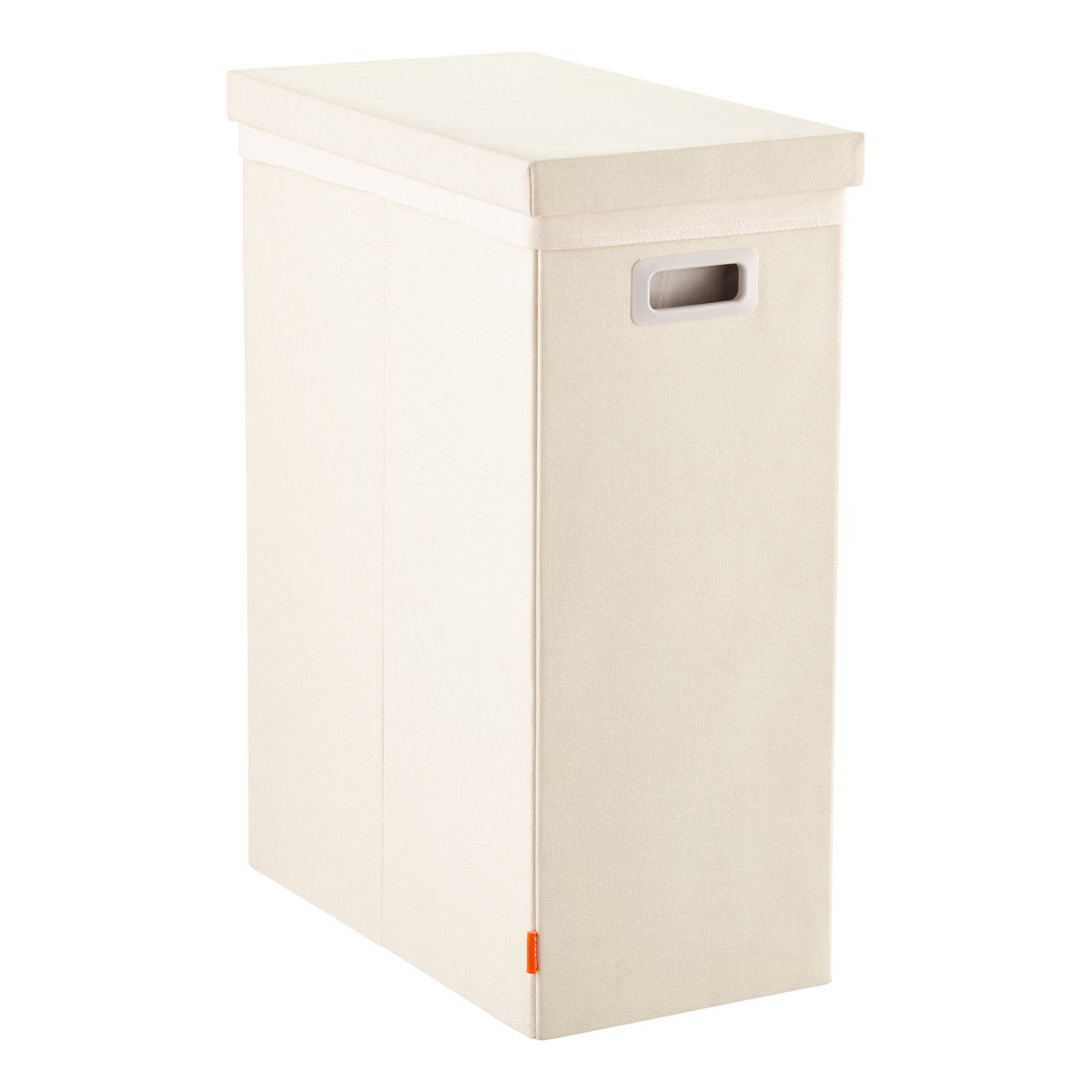 Closed Laundry Hamper Linen Poppin Laundry Hamper With Lid The Container Store