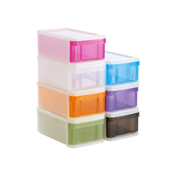 Plastikkisten Stapelbar Small Tint Stacking Drawer