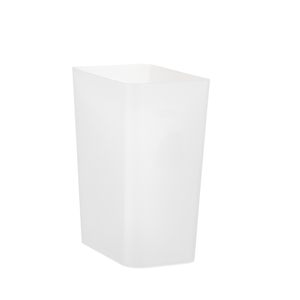 Small White Trash Can With Lid Small Clear Rectangular Trash Can