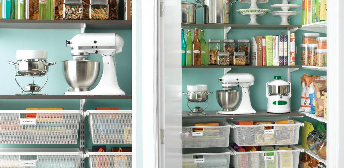 SaveEnlarge · 69 Best Elfa Shelving Kitchen ...