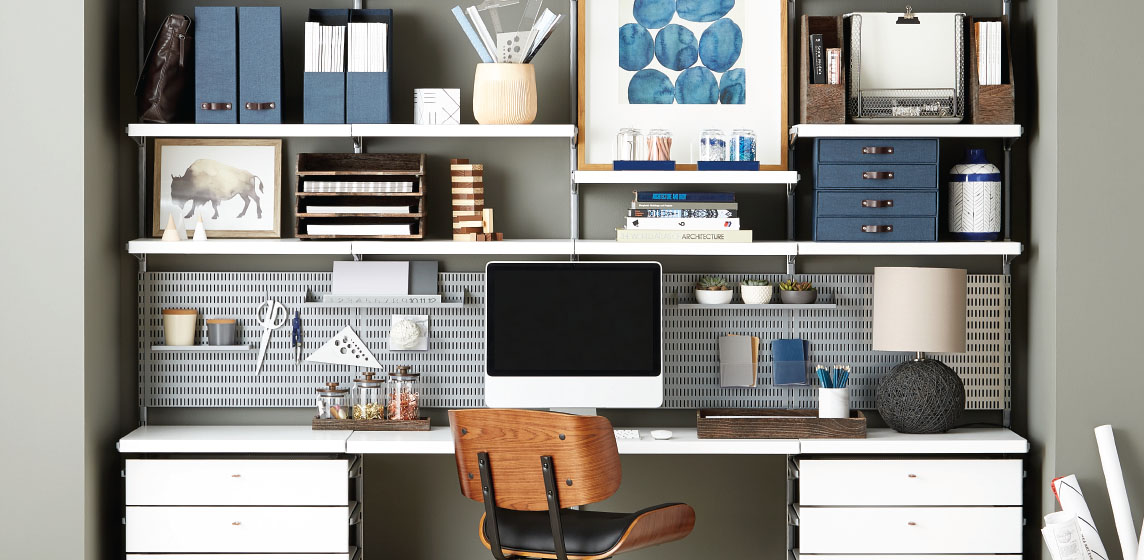 Office Shelving Custom Desk Ideas Design Ideas For