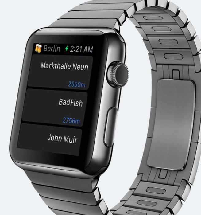Meet Brew, the 1st Apple Watch app on Contentful