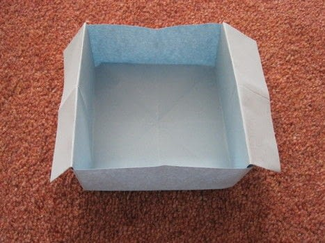 Quick Origami Disposable Trash Box · How To Fold An Origami Box