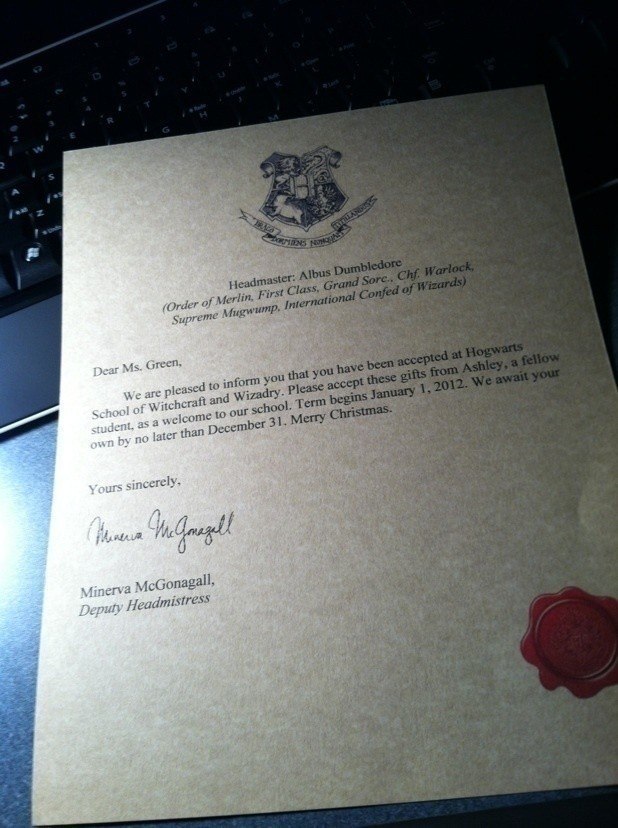 Harry Potter Hogwarts Acceptance Letter · How To Make A Digital - hogwarts acceptance letter