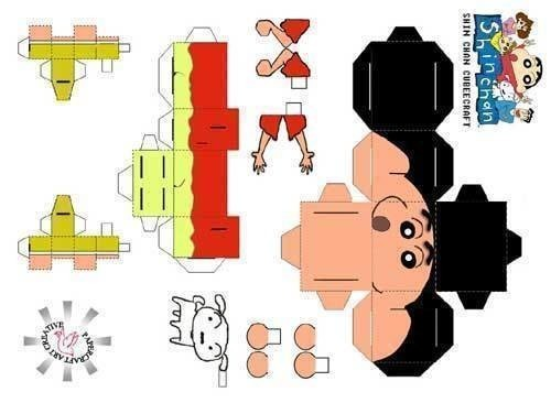 Random Papercraft\u0027s · A Papercraft · Papercraft on Cut Out + Keep