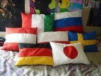 Hetalia Pillows  A Pillow  Creation by Joy K.