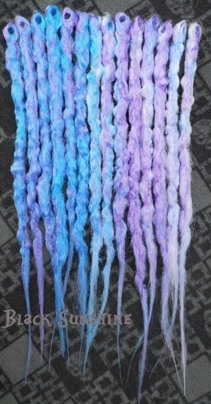 Dreadlock Hair Rings Crochet Synthetic Dreads · How To Make A Dreadlock Fall
