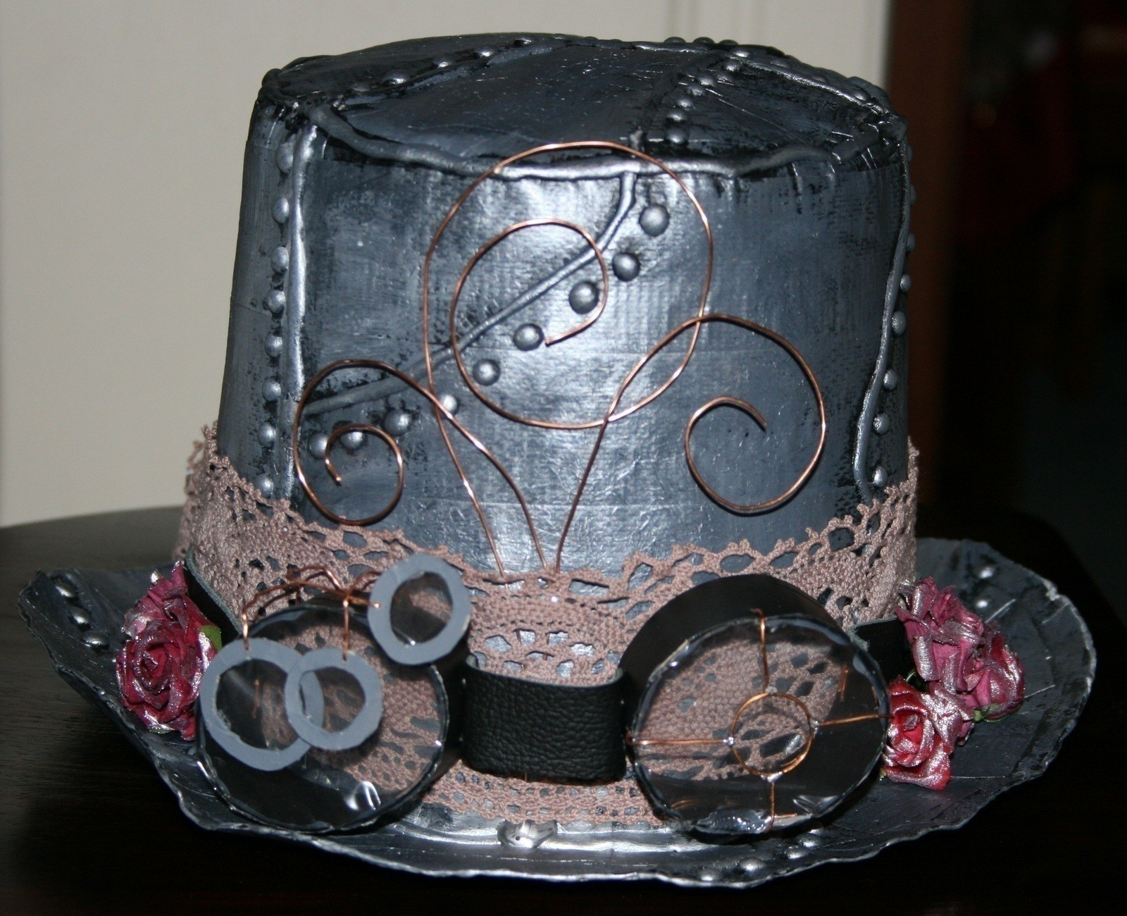 Steampunk Ideas Diy Duct Tape Steampunk Top Hat A Top Hat Spray
