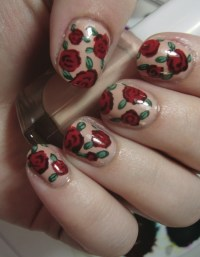 Vintage Rose Nails  Extract from DIY Nail Art by ...