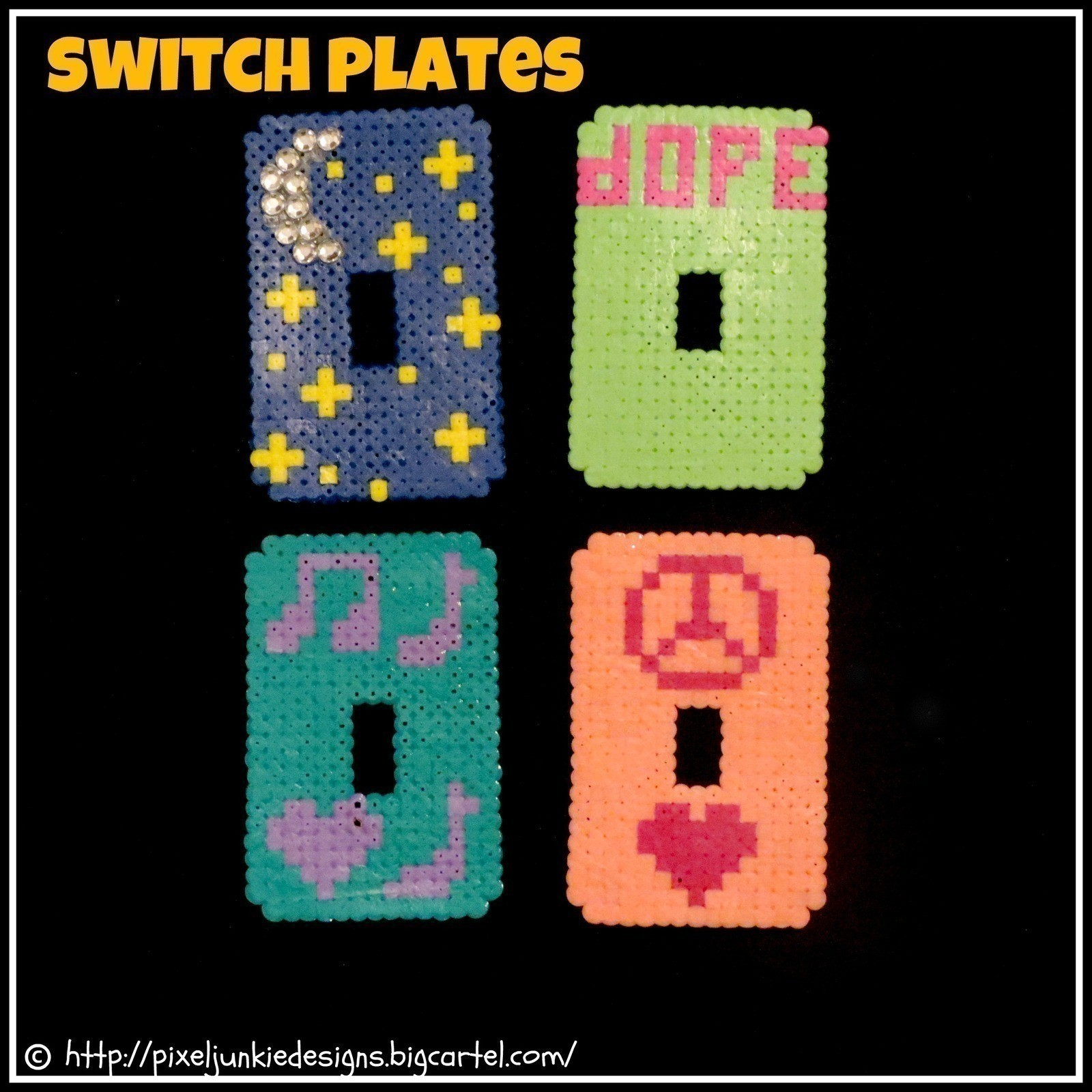 Vintage Light Switch Plate Covers Perler Bead Switch Light Cover A Light Switch Other On Cut Out