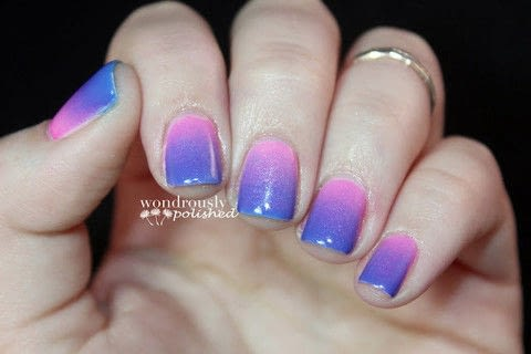 Gradient Nail Art How To Paint A Gradient Nail Nail
