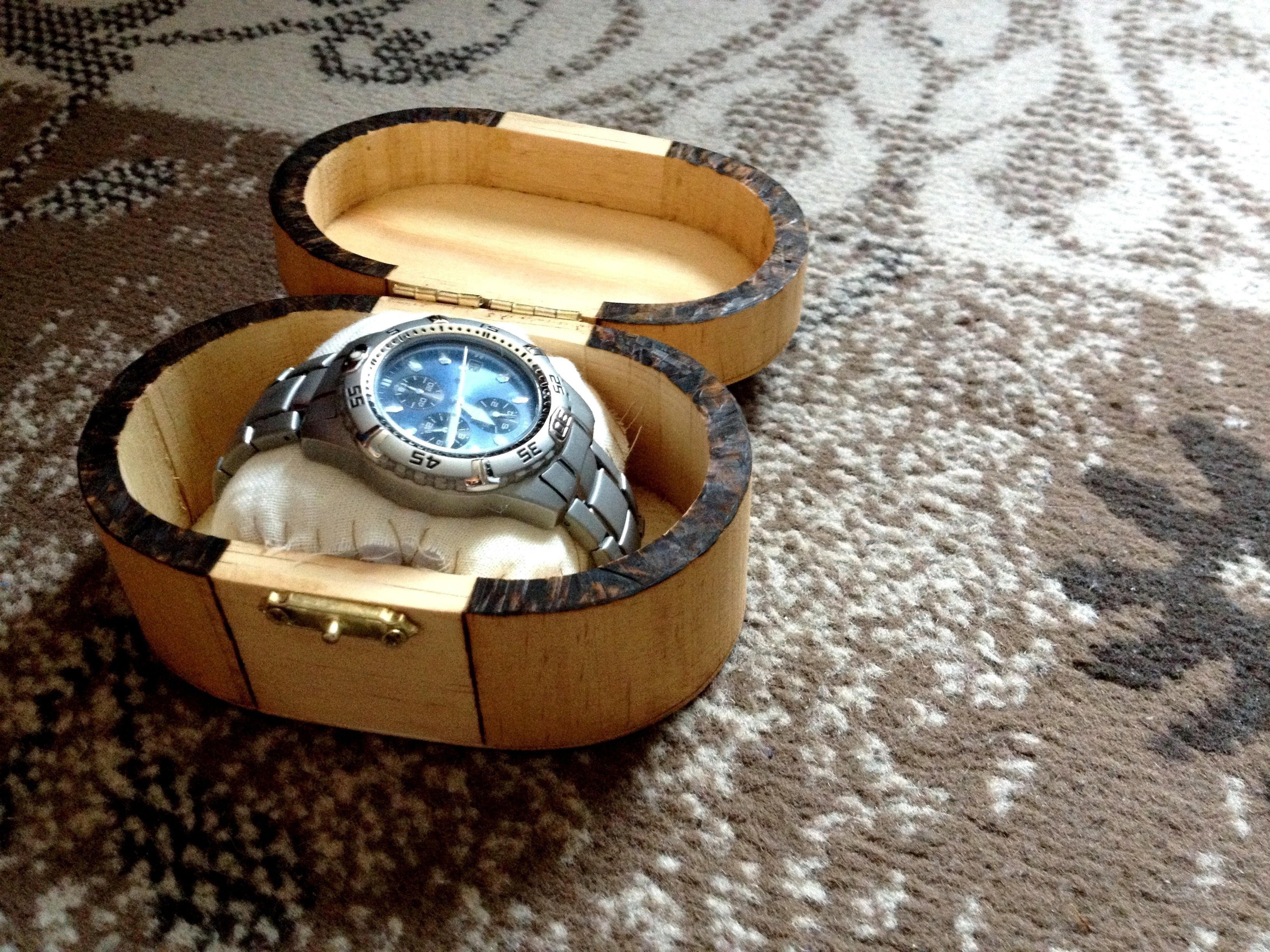 Wooden Watch Box How To Make A Wood Burned Box Home