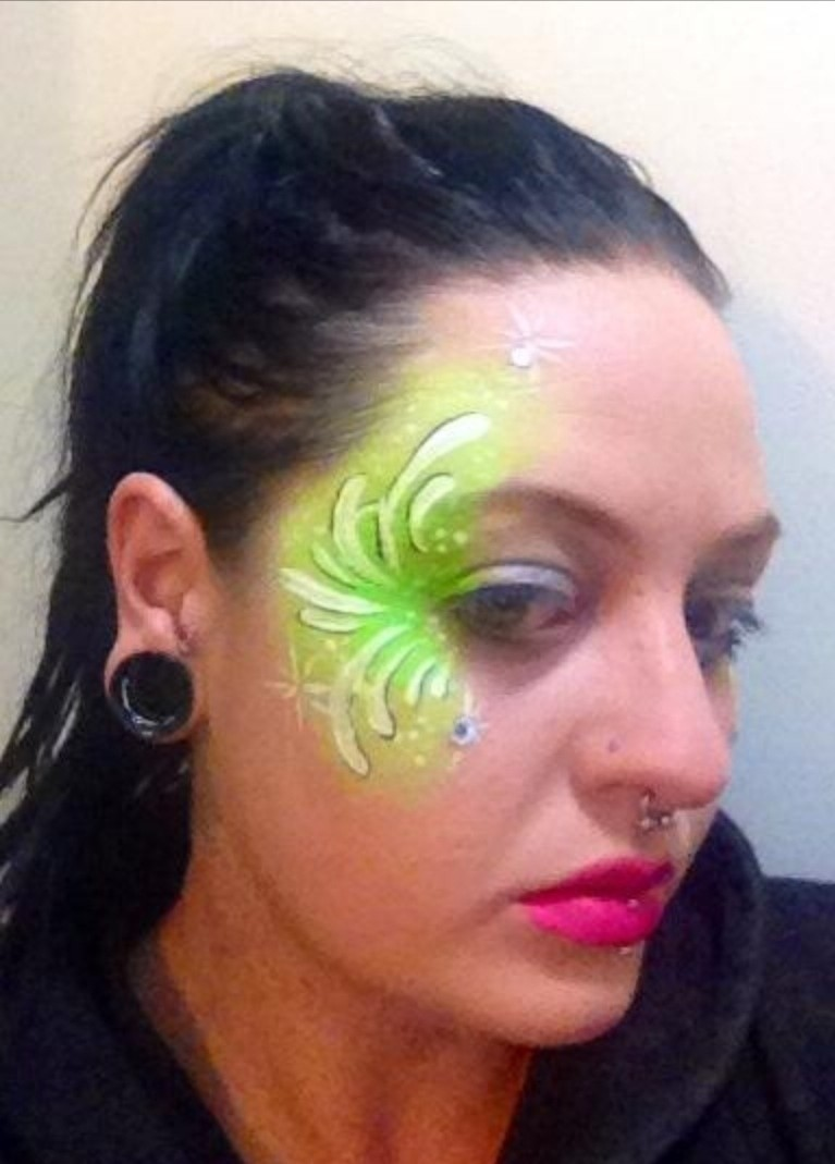 Face Paint Supplies Adelaide Green Fairy Facepaint A Face Painting Beauty On Cut Out Keep