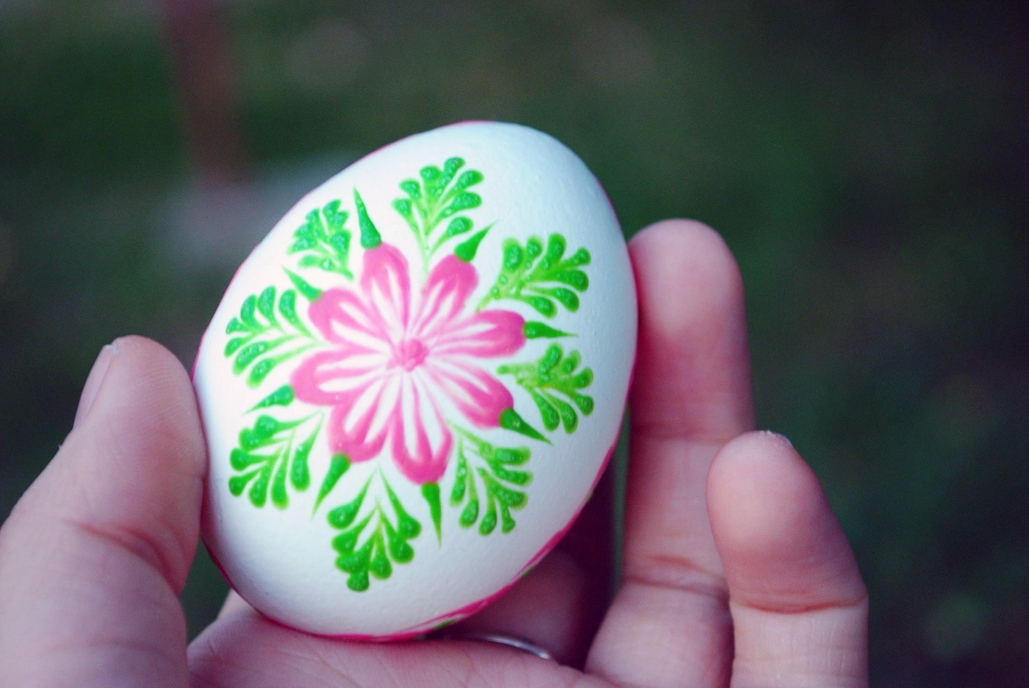 Slovak Hand Painted Easter Eggs How To Make A Decorative