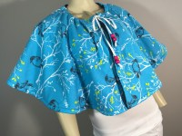 Reversible Drawstring Cape Sewing Diy  How To Make A ...