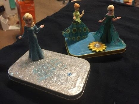 Frozen Themed Treasure Boxes A Mint Tin For Trinkets